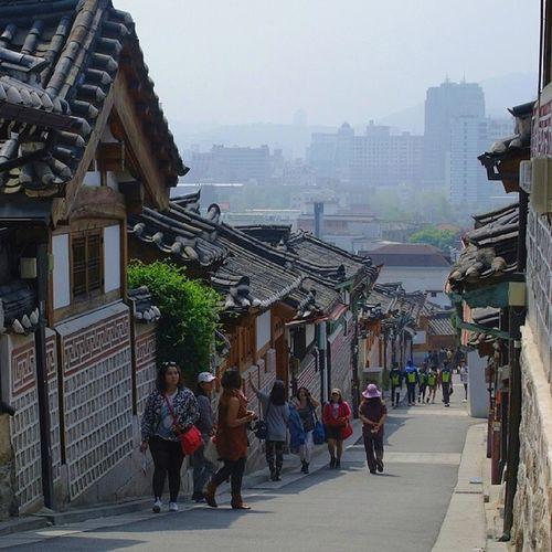 Vintageseoul Seoul_korea 한옥마을 사진과 궁궐사진이 머리에서 맴돌맴돌