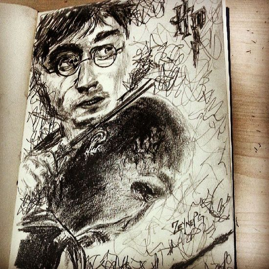 Hp7 Harrypotter Voldemord Potter Elderwand end drawings art sketch sketchbook wizard magic deathlyhallows artworks dailyart dailysketch karakalem drawing drawingoftheday sketchoftheday artist twistedceleb iger potterhead