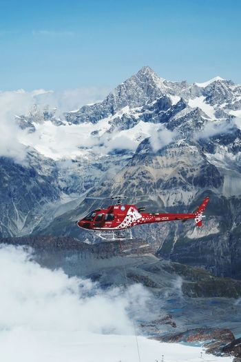 Helicopter Alps