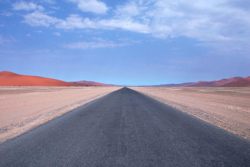 Desert Deserts Around The World Namib Desert Namib Dunes Namibia Namibia Landscape NamibiaPhotography Road Sossusvlei Africa Arid Arid Climate Arid Landscape Desert Desert Beauty Desert Landscape Deserted Landscape Mountain Namib Red Color Road Trip Roadtrip The Way Forward The Week On EyeEm An Eye For Travel
