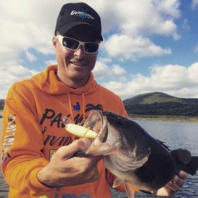 Walking boss II, new killer for topwater italian bass. Bassfishing Livingstonlures Lucaquintavalla