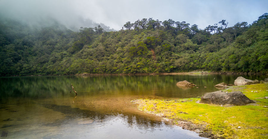 Nailig lake Water Nature Mountain Lake Tree Outdoors No People Landscape Scenics Day Beauty In Nature Sky