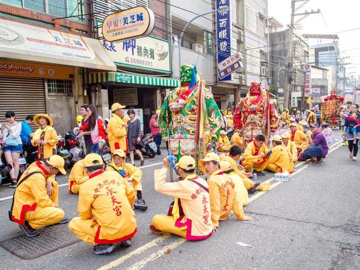 Feel The Journey Clairaudience Clairvoyance DAJIA Goddess Lin Mo Mazu Pilgrimage Street Tianshang Shengmu