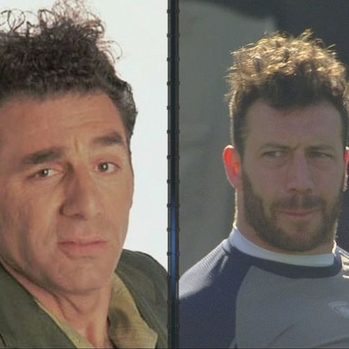 Coming up next Patriots  vs Texans with Connor Barwin starring as Cosmo Kramer Seinfeld
