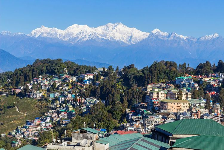 Darjeeling Memories EyeEm Nature Lover EyeEm Gallery Clouds And Sky Sunnyday☀️ My Style My Photography! EyeEm Best Shots Blue Sky Kanchenjunga Darjeelingdiaries Mountain Mountain Range Snow Snowcapped Mountain Mountain Peak Landscape Scenics Cold Temperature Beauty In Nature No People Day Nature Sky