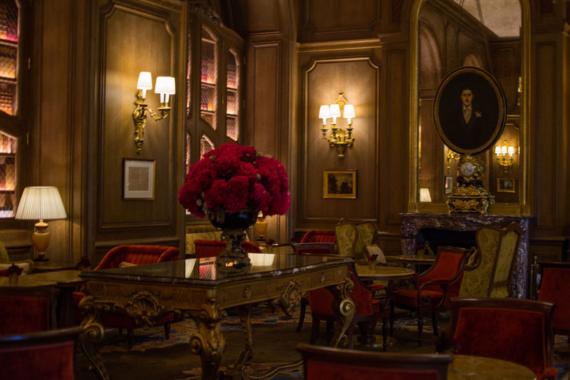 Inside the Ritz Paris Elégance Interior Style Interior Decorating Luxury Hotel Luxury Travel Romantic The Ritz Carlton Travel Traveling Candle Chair Classy Decoration Europe Expensive Flower Hotel Indoors  Interior Interior Design Luxury Luxury Life Ritz Table Travel Destinations