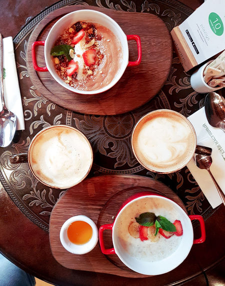 Flatlayphotography Flatlays Flatlayoftheday Flatlay Flatlaystylist Flatlayforever Flatlaycontest Flatlay_inspire Domkashtana Dessert Yammy  флэтлей раскладка Torte Froth Art Drink Frothy Drink Plate Directly Above Table High Angle View Soup Close-up Food And Drink