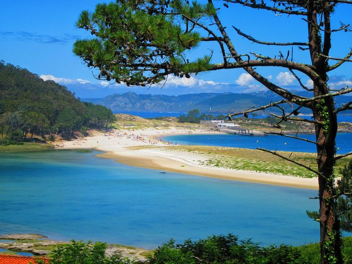 Beauty In Nature Blue Calm Coastline Day Growth Idyllic Landscape Lumicar Mountain Nature No People Non Urban Scene Outdoors Plant Scenics Shore Sky Tourism Tranquil Scene Tranquility Travel Destinations Tree Vacations Water