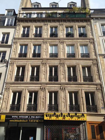 Apartment Architecture Building Building Exterior Built Structure France Haussemann Paris Residential Structure