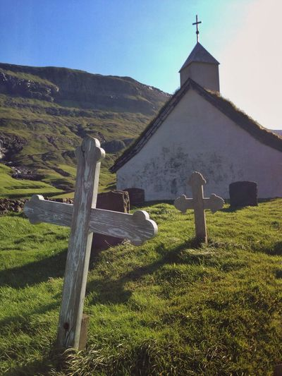 Faroe Islands Church Cross