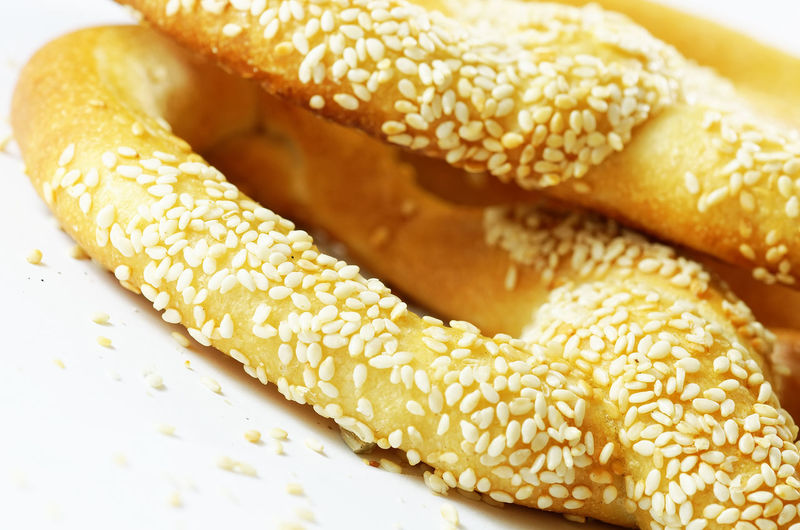 Pretzels Bagles Baked Bread Breakfast Close-up Fast Food Focus On Foreground Food Food And Drink Freshness Healthy Eating Indoors  Indulgence No People Ready-to-eat Seed Sesame Sesame Seed Snack Still Life Temptation Wellbeing
