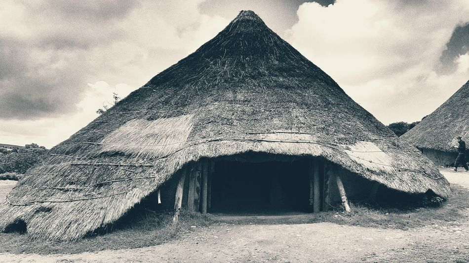 Castell Henllys West Wales Wales Iron Age Hill Fort Iron Age Roundhouse Outdoors No People Beauty In Nature Sightseeing Scenery Countryside