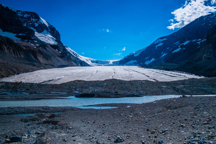 IceField Icefields Parkway Beauty In Nature Blue Canada Cold Temperature Day Frozen Glacier Glaciers Ice Iceberg Icefields Icefieldsparkway Idyllic Lake Landscape Mountain Mountain Range Nature No People Outdoors Rocky Mountains Scenics Sky Snow Snowcapped Mountain Tranquil Scene Tranquility Water Winter