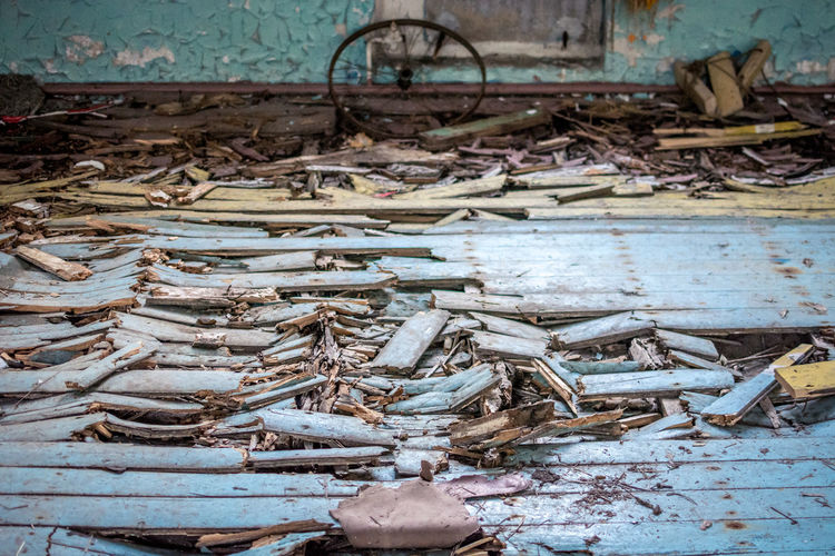 Day No People Abandoned Large Group Of Objects Damaged Animal Outdoors Abundance Obsolete Old Bad Condition Metal Rusty Transportation Animal Themes Destruction Wood - Material Decline Architecture Ruined Fishing Industry Collapsing Wheel Decay Destruction