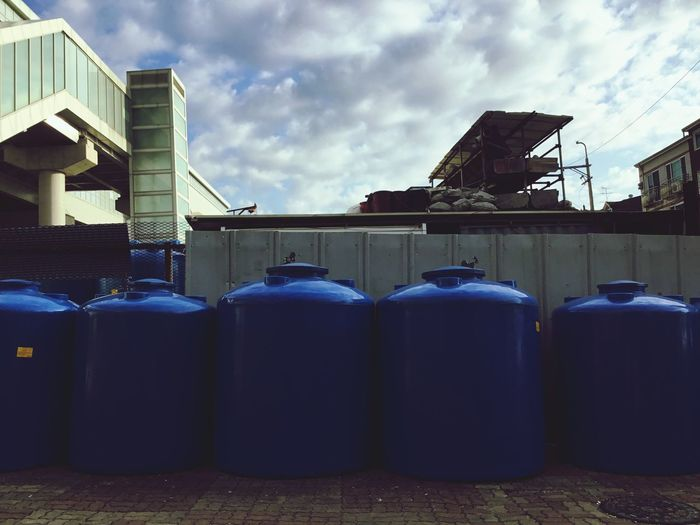 Water Tank Cloud - Sky Architecture Built Structure Sky Building Exterior Day