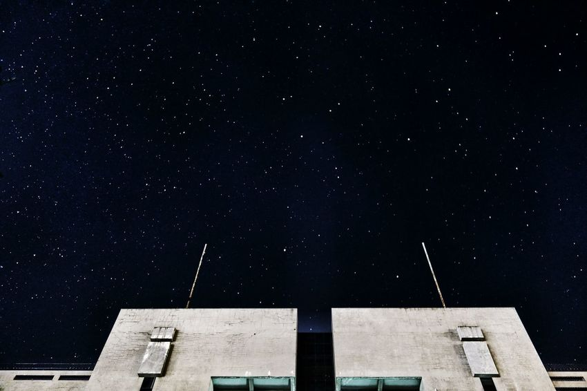🌟🌟🌟 Milky Way Beauty In Nature Architecture Star - Space Night Built Structure Building Exterior Astronomy Outdoors Constellation Low Angle View No People Space Sky Galaxy EyeEmNewHere The Week On EyeEm