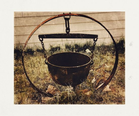 Antique Cauldron Rustic No People Outdoors IPhoneography Cast Iron