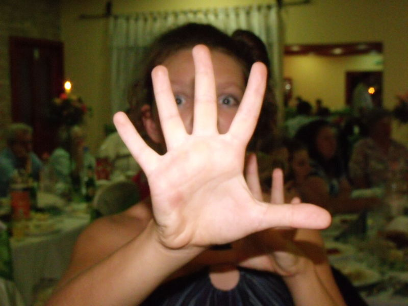 Dóri Adult Close-up Focus On Foreground Gesturing Headshot Human Finger Human Hand Indoors  Looking At Camera Night One Person Palm Paparazzi People Portrait Real People Stop Gesture Women Young Adult Young Women