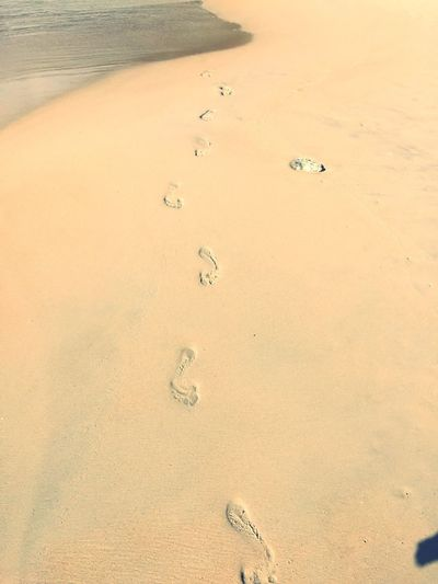 Leave your footprint 👣 Sand FootPrint Tranquility