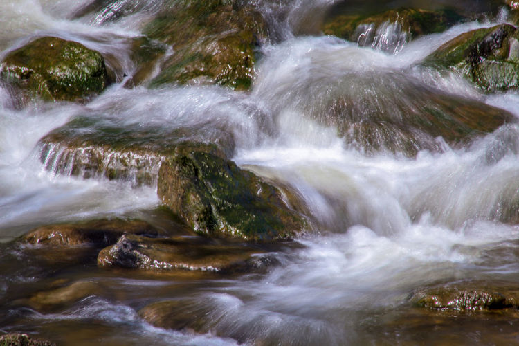 EyeEm Best Shots EyeEm Nature Lover EyeEmBestPics EyeEm Best Shots - Nature Beauty In Nature Wonders Of Nature Water Waterfall Power In Nature Tree Motion River Sky Landscape Stream Rapid Flowing Water Flowing Long Exposure Falling Water Moss Rock - Object