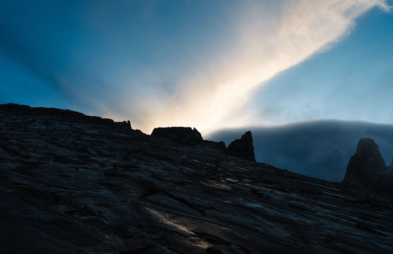 The Sky before sun rise in Mt Kinabalu Beauty In Nature Cloud - Sky Day Mountain Nature No People Outdoors Scenics Sky Sunset