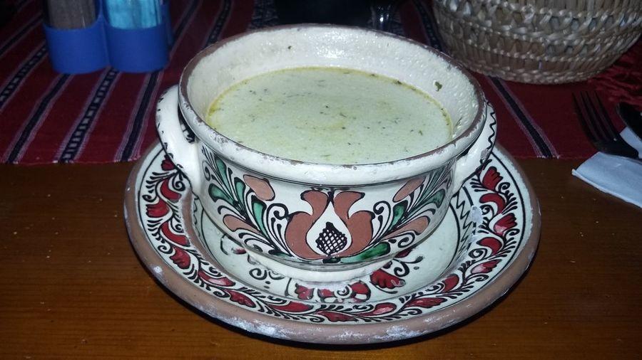 Romanian Traditional Soup Food Taste