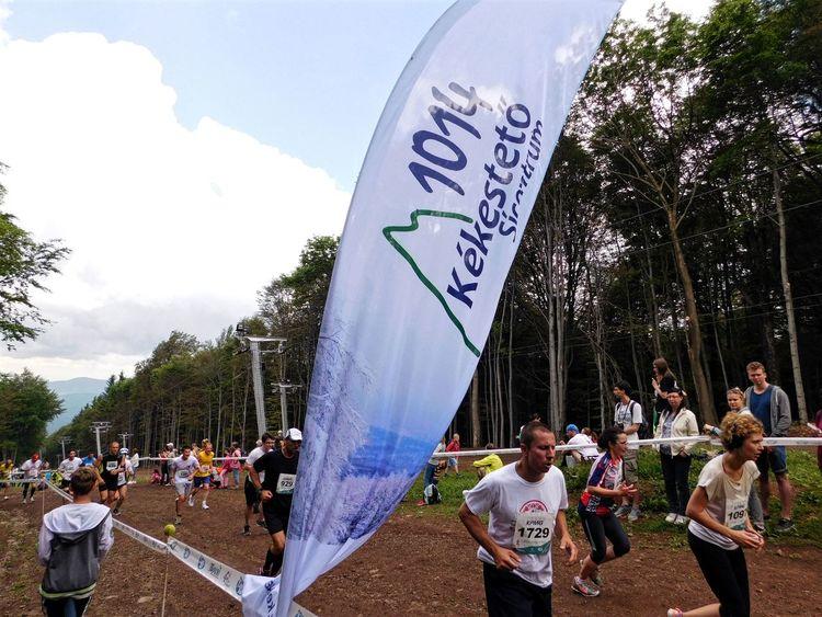 Hungary Kékestető Mátra Mountain Runners Sports Photography