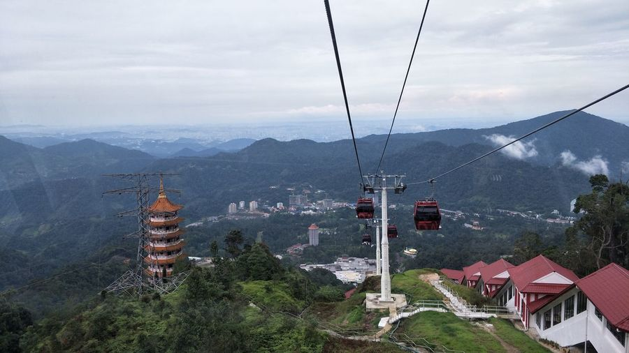 EyeEm Selects Overhead Cable Car Mountain Travel Destinations