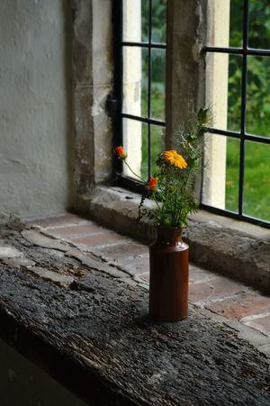 Bourne Mill Elizabethan Flower Frame Indoors  No People Plant Window Window Sill