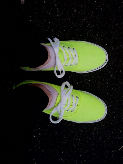 New Shoes ♡ Hi! Shoes Neon Green My Fav♡