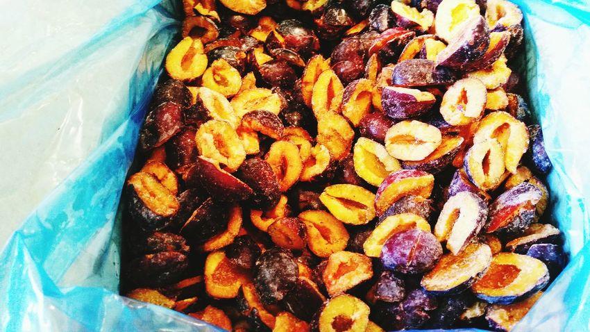 Plum Frozen Fruit Halves Industrial Product Serbia Mr Fruit Fruit Photography EyeEm Best Shots