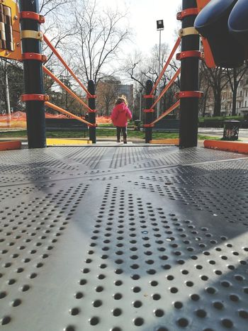 Kids Playing One Child One Child Only Toddler  Toddlerlife Child At The Park Kid At The Park Park Playground Playground Equipment Child At Play Toddler Girl Full Length Tree Childhood Sky Outdoor Play Equipment Playground Slide - Play Equipment Schoolyard Park - Man Made Space