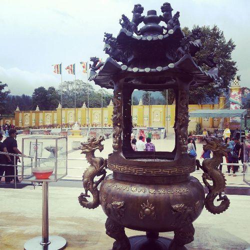 Travel Traveler TamanAlam Lumbhini Medan Brastagi Sumut Budha Temple Indonesia