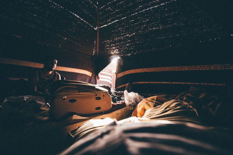 Learn & Shoot: Single Light Source Camping Desert Traveling Travel Light And Shadow Canon Tent Wadi Rum Enjoying Life