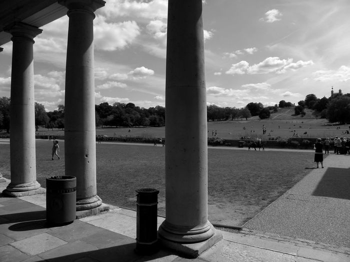 I particularly liked the division of the landscape that the columns made Columns Travel The Best From Holiday POV On The Road Capturing Freedom The Great Outdoors - 2015 EyeEm Awards Architecture_bw Architecture_collection Architectural Detail Historical Building