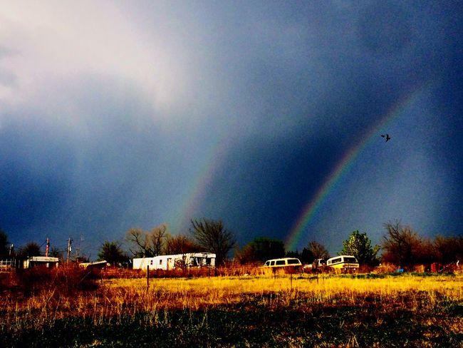 Rainbows Eagle Oklahoma Weather Oklahoma Sky Oklahoma Nature