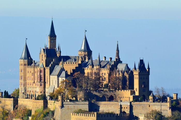 Burg Hohenzollern Architecture Castle Rock Beautiful Castle History