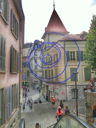 À Lausanne c est aussi la fête de la musique!!! Music Lausanne Streetphotography Srteetphotography LG G3 Live Suisse  Spiral Hello World Amazing Architecture