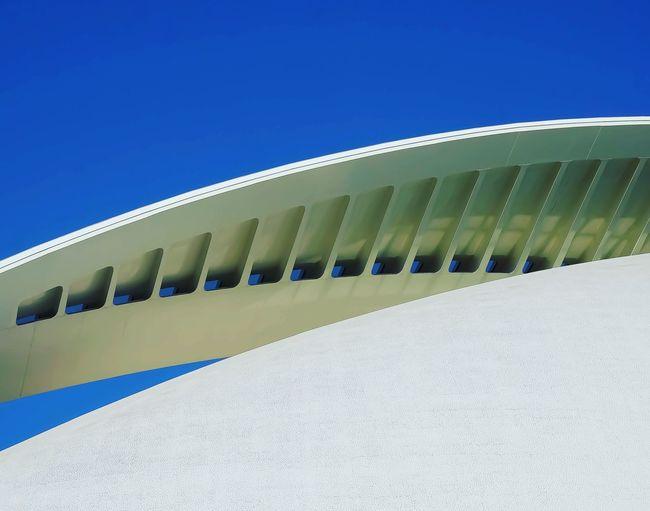 Ciutat de les Arts i les Ciències, Blue Hour Modern Architecture SPAIN Valencia, Spain Architecture Blue Landscape Built Structure cityscapes Day Modern No People
