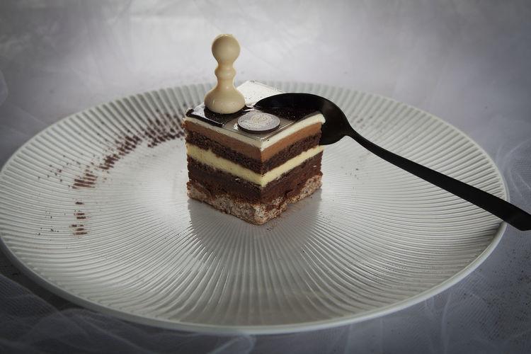 Cake Close-up Food Light And Shadow Still Life Studio Shot