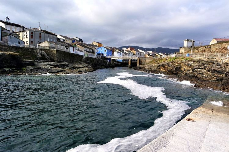 Cute village - the coast of Galicia Cloudy Sky Multicolored Houses Waves Water Travel Photography Home Is Where You Park It Vanlife Vanlifediaries Travel Spain♥ Northspain Atlantic Ocean Coastline Coastline Landscape Cute Village SPAIN Magic Moments Galicia, Spain Wild Ocean City Water Beach Sea Cityscape Sky Architecture Building Exterior Cloud - Sky Built Structure #FREIHEITBERLIN EyeEmNewHere The Great Outdoors - 2018 EyeEm Awards The Traveler - 2018 EyeEm Awards Summer Road Tripping The Photojournalist - 2018 EyeEm Awards My Best Travel Photo A New Beginning A New Perspective On Life Holiday Moments It's About The Journey