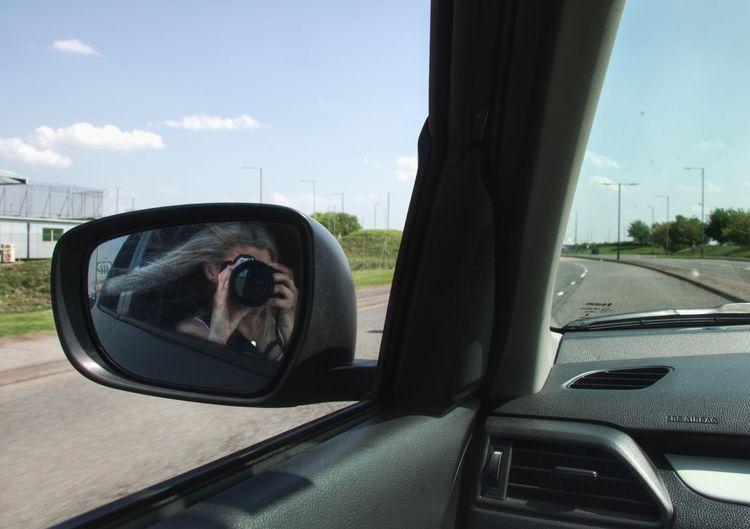 Car Motor Vehicle Transportation Mode Of Transportation Land Vehicle Glass - Material Sky