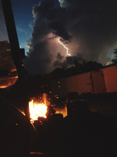 Cool shot of lightening I got with my fast camera app. Lighteningstrikes Lightening Fastcamera Storm