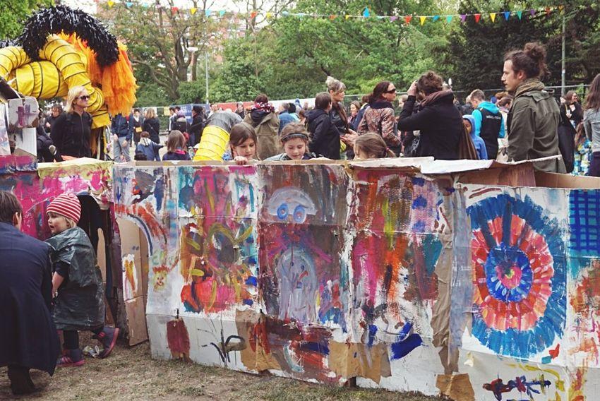 Kinderkunst Berlin Hallesches Tor