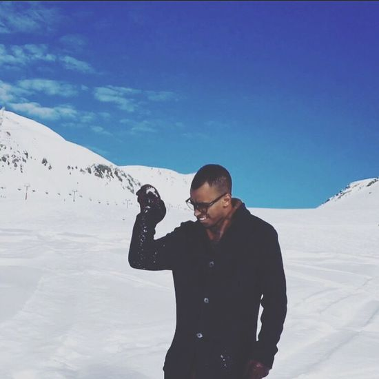 Snowbae ❄️ Snow Winter Cold Temperature SaltBae Gudauri Georgia