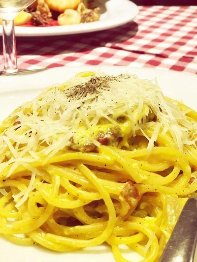 And pasta🙌🏼 #italianrestaurant #italianfood Food Ready-to-eat Pasta Italian Food Spaghetti
