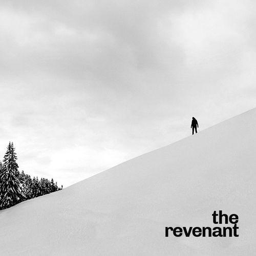 Man with text on snow against sky