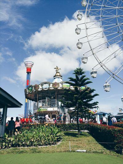 Themedpark Fujifilmxa2 Carousel Ferriswheel Skyranchtagaytay View Picoftheday Photooftheday Pictureoftheday Philippines