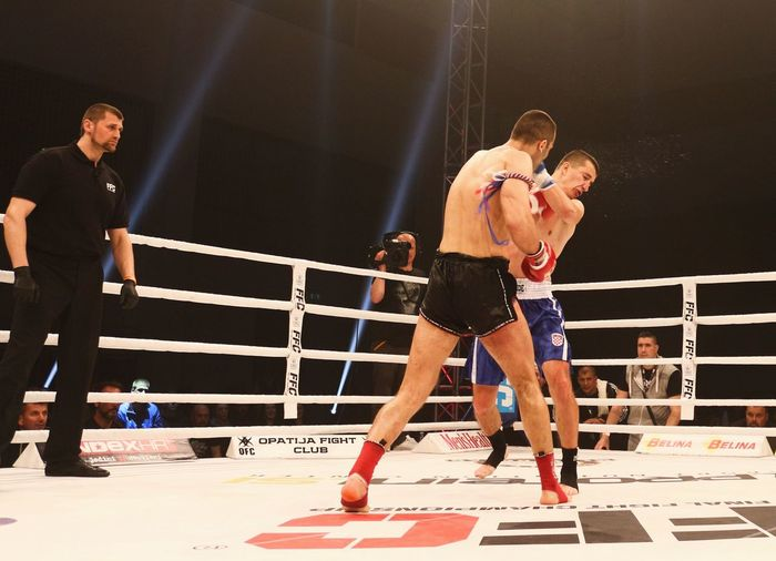 FFC Futures Fight, Croatia Croatia FFC KO Boxing - Sport Boxing Ring Competition Competitive Sport Concentration Final Fight Championship Full Length Futures Jasmin Bajrović Kickboxing Knockout Only Men Shirtless Skill  Sport Sportsman Zagreb Muay Thai