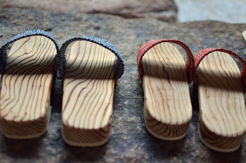 Pairs of wooden